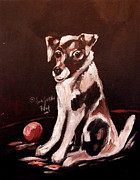 King James Prints - Jack Russell  Print by Anna Sandhu Ray