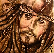 Jo Marrocco - Jack Sparrow - Glass