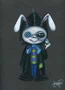 Easter Drawings Posters - Jack The Rabbit Poster by Sour Taffy