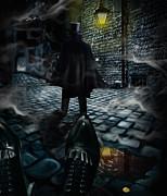 Jack The Ripper Print by Alessandro Della Pietra