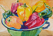 Suzanne Willis Metal Prints - Jacks Peppers Metal Print by Suzanne Willis