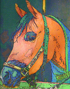 Arabian Horses Mixed Media - Jackson by Judith Rothenstein-Putzer