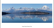 Jackson Prints - Jackson Lake at Grand Teton National Park  Print by Twenty Two North Photography