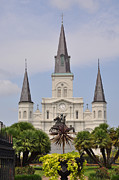 Jackson Digital Art Framed Prints - Jackson Square Framed Print by Bill Cannon
