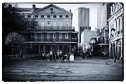 Jackson Prints - Jackson Square Preparations Print by John Rizzuto