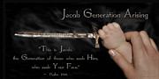 Prophetic Artwork Framed Prints - Jacob Generation Framed Print by Constance Woods