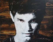 Twilight Drawings - Jacob Jake  Black - Twilight by Eric Dee