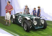 RG McMahon - Jacobsen MG N Magnette Special