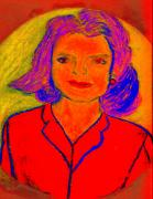 First Lady Paintings - Jacqueline Kennedy Dallas by Richard W Linford