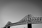 Eric Soucy Art - Jacques Cartier Bridge Montreal Metro 1 by Eric Soucy