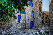 Stone Path Photos - Jaffa Neighborhood by Ken Smith
