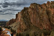 Oregon State Art - Jagged Peaks At Smith Rock by Adam Jewell