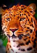 Preditor Metal Prints - Jaguar Metal Print by Michael Pickett
