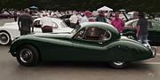 Jaguar Xk 120 Coupe Print by Curt Johnson