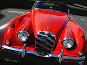 Curt Johnson - Jaguar XK 150 Red