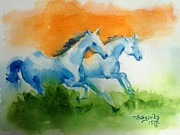Independence Day Paintings - Jai Hind by Sagarika Sen