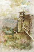 National Painting Posters - Jaigarh Fort Poster by Catf