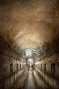 Jail - Eastern State Penitentiary - End Of A Jouney Print by Mike Savad