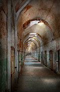 Jail - Eastern State Penitentiary - Endless Torment Print by Mike Savad