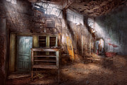 Jail Metal Prints - Jail - Eastern State Penitentiary - Sick Bay Metal Print by Mike Savad