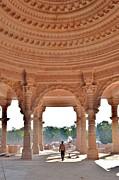 Jain Temple Entrance - Amarkantak India Print by Kim Bemis