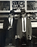 People Digital Art - Jake and Elwood by Snake Jagger