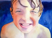 Todd Derr Prints - Jake Out Of Water Print by Todd Derr