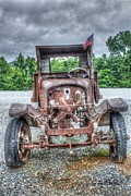 Haunted Digital Art - Jalopy by Dan Stone