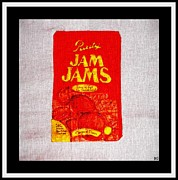 Cookies And Milk Prints - Jam Jams Print by Barbara Griffin
