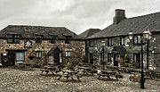 Chimneys Prints - Jamaica Inn. Print by Linsey Williams