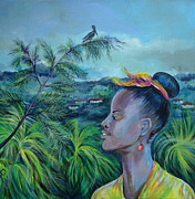 Anna Duyunova Art Prints - Jamaica. Part Two Print by Anna  Duyunova