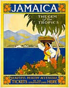REPRODUCTION - Jamaica Poster