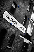 Jamaica Prints - Jamaica Wharf Print by Mark Rogan