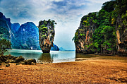 Outstanding Framed Prints - James Bond Island Framed Print by Syed Aqueel