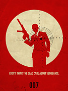 Movie Posters Posters - James Bond Quantum of Solace Poster Poster by Irina  March