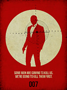 Movie Posters Prints - James Bond Skyfall Poster Print by Irina  March