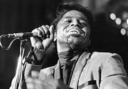 James Photo Prints - James Brown Poster Print by Sanely Great