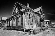 Old West Photo Metal Prints - James Cain House Metal Print by Cat Connor