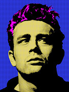 Cultural Icon Posters - James Dean 002 Poster by Bobbi Freelance