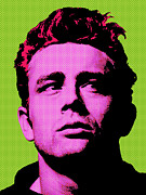 Dean Of Art Framed Prints - James Dean 003 Framed Print by Bobbi Freelance