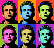 Dean Of Art Framed Prints - James Dean 006 Framed Print by Bobbi Freelance