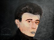 Dean Painting Originals - James Dean by Alys Caviness-Gober