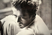 James Dean Photos - James Dean Black And White by Jay Milo
