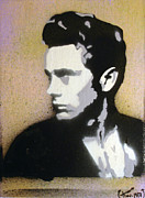 James Dean Mixed Media Posters - James Dean Poster by Dave Ross