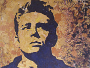 Dean Painting Originals - James Dean by David Shannon