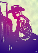 Icon Metal Prints - James Dean Metal Print by Giuseppe Cristiano