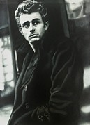 Carl Baker Art - James Dean the American Icon by Carl Baker