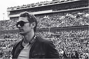 Daytona 500 Photos - James Franco Daytona Crowd by Shanna Vincent