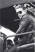 Daytona 500 Photos - James Franco  by Shanna Vincent