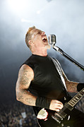 Metallica Art - James Hetfield by Ben Johnson